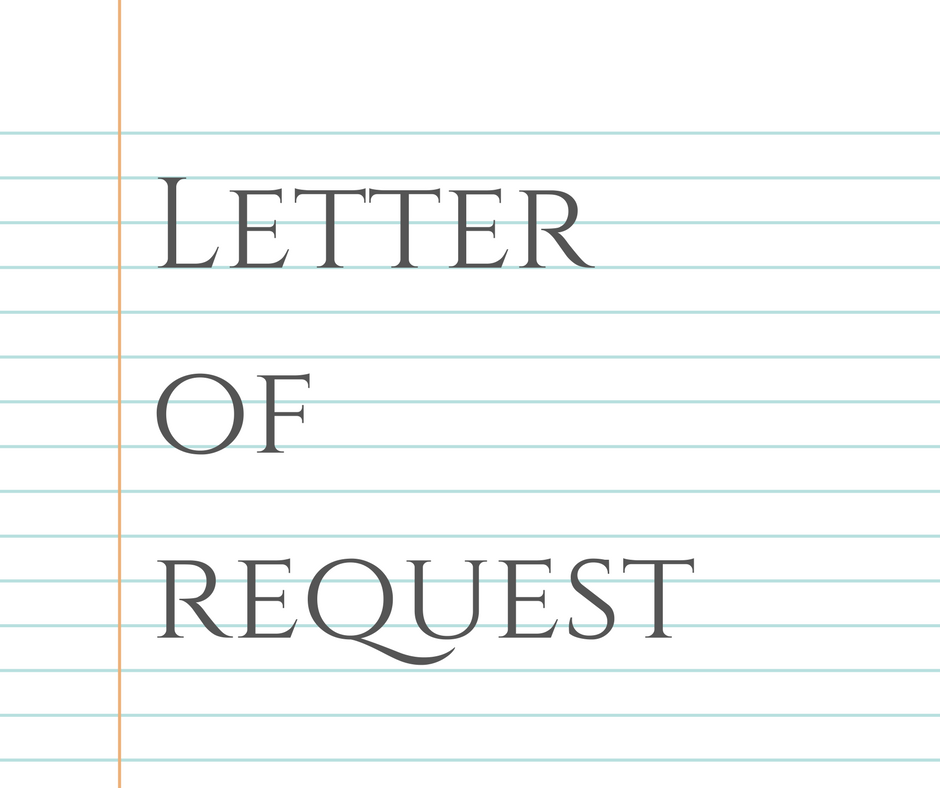 Sample Letter Of Request For Materials Needed Formal Letter Samples And Templates