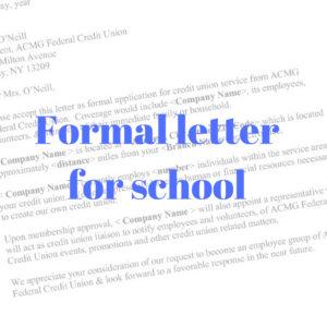 Proper Professional Letter Format from formalletter.net